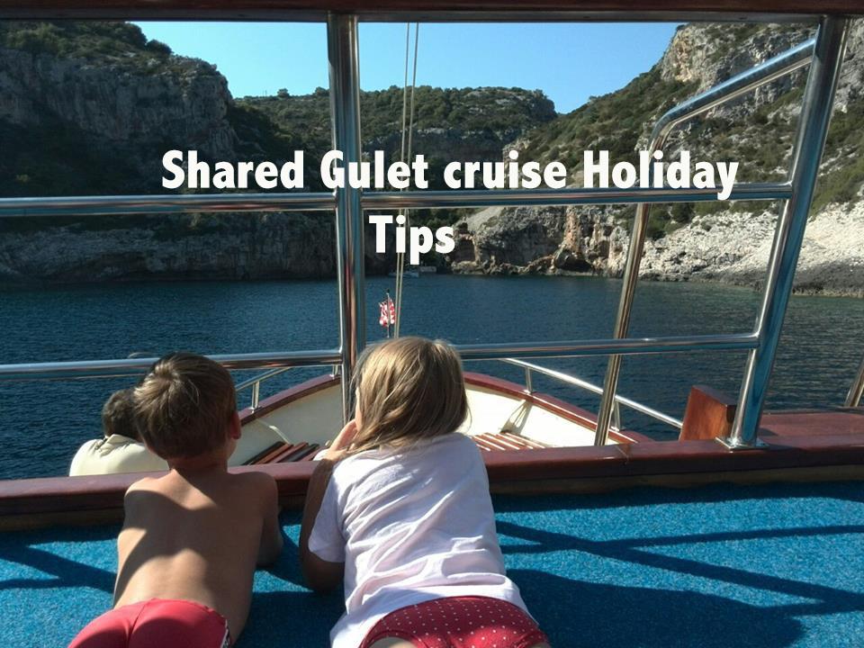shared gulet cruise holiday