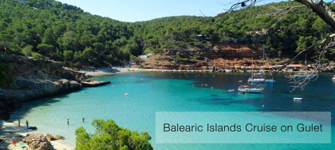 Balearic Islands trending fact cruise on Gulet