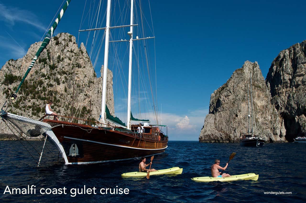 amalfi coast gulet cruise