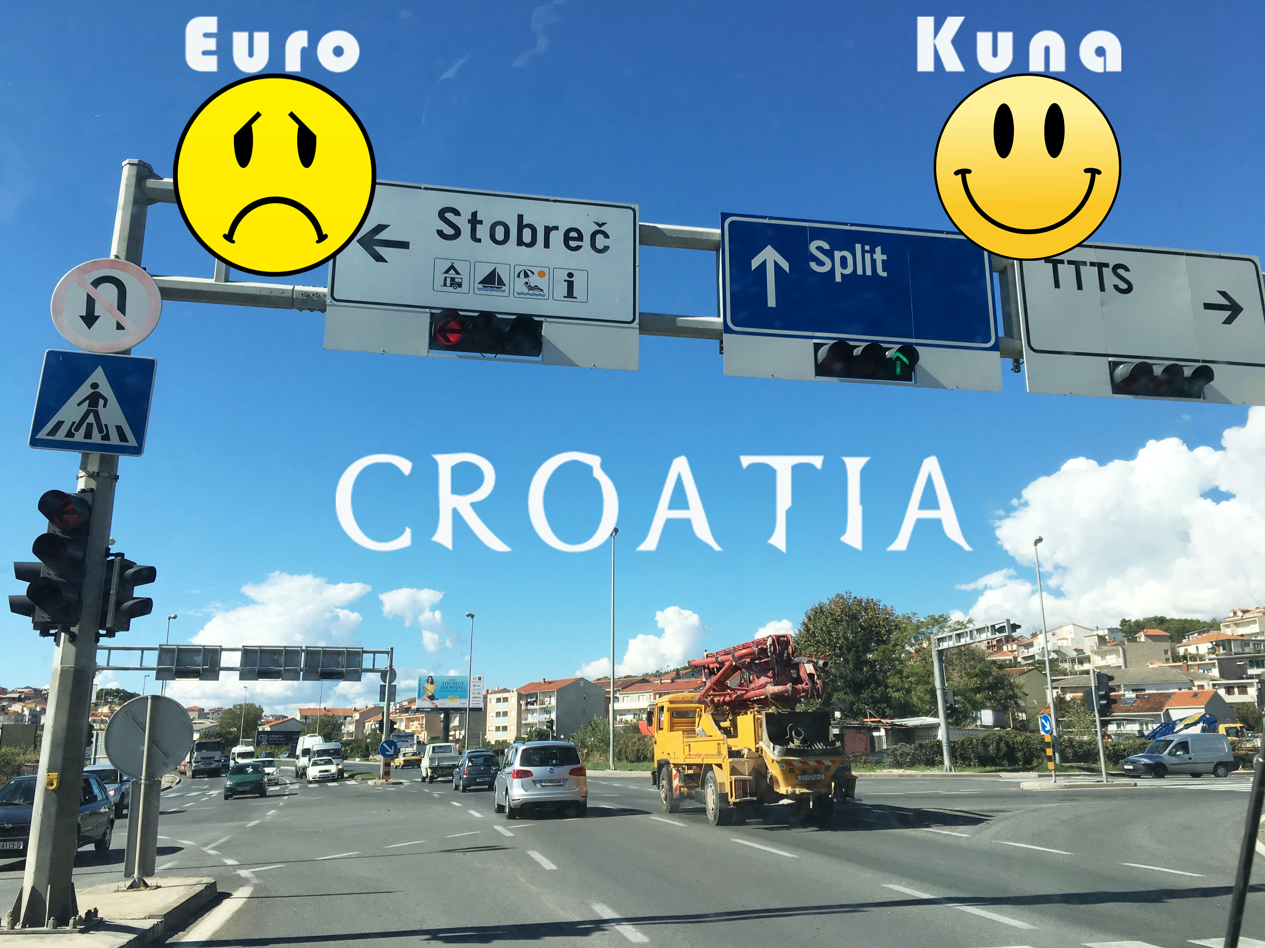 Croatia currency Kuna or euro