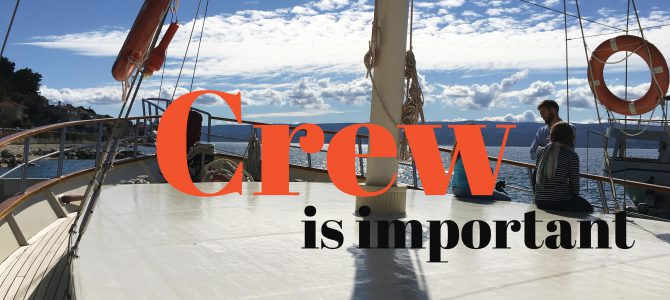 Crewed Gulet Charter Croatia, Turkey , Greece. Every members work is crucial for a Happy-ending holiday!
