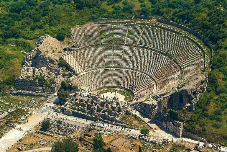 Efes-Antik-Kenti bodrum