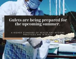 Gulets disinfection