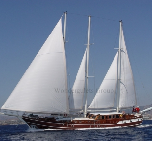 Luxury wg te 003 gulet charter Croatia and Montenegro 34 meters