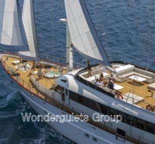 Luxury WG CI 010 ,motorsailer charter Croatia & Montenegro 37.30meters