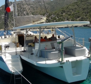 Catamaran SY TS 002