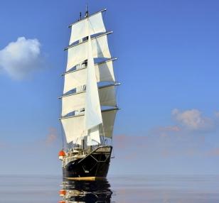 Barca a vela SY GD 001