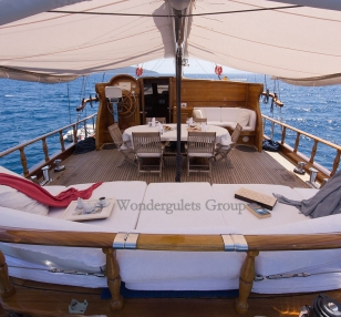Luxury wg tc 003 gulet charter Greece Turkey 23.90meters