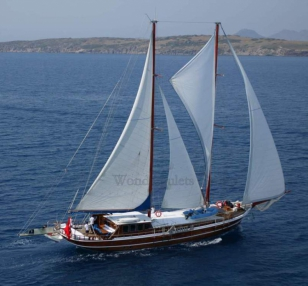 Superior wg tu 003 gulet charter Turkey Greece 28meters