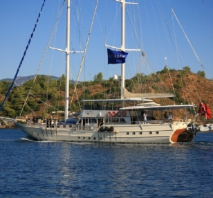 Superior wg ga 001 gulet charter Greece Turkey 41meters