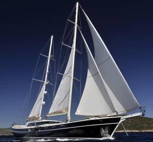Luxury wg te 008 gulet charter Greece Turkey 36meters