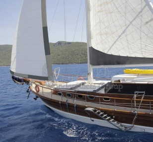 Superior WG KT 001 gulet charter Greece Turkey 24meters