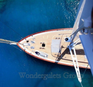 Luxury wg kp 018 gulet charter Greece Turkey 40meters