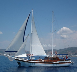 Superior wg te 005 gulet charter Greece Turkey 30meters