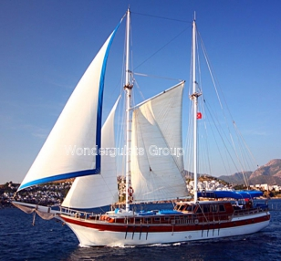 Superior wg te 007 gulet charter Greece Turkey 30 meters