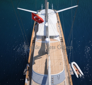 Luxury WG KS 001 gulet charter Greece 36.00 meters