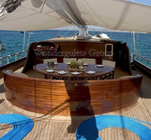 Luxury wg tw 004 gulet charter Spain 35.00 meters