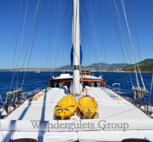 Superior wg te 001 gulet charter Greece Turkey 30meters