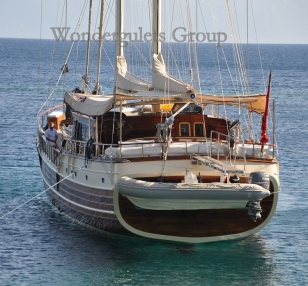 Luxury WG TU 005 gulet charter Greece 30.00 meters