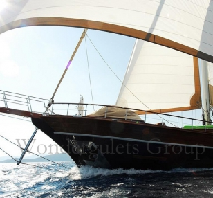Luxury motorsailer 42mt Turkey and Greece
