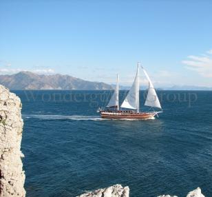 Luxury wg ts 002 gulet charter Turkey 26 meters