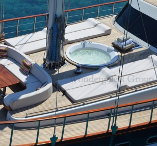 Luxury wg tu 009 gulet charter Greece Turkey 30 meters