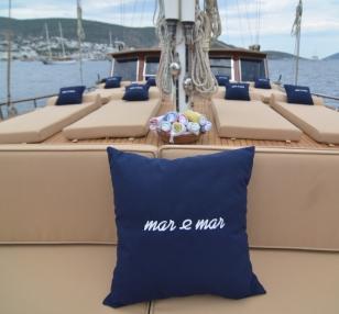 Luxury Gulet Mar & Mar charter Italy 24mt