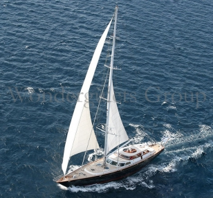 Perini Sailing Yacht 36meters in Greece