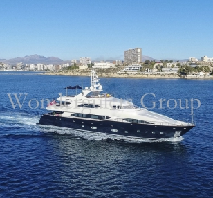 Super Yacht 40meter Spain cruising