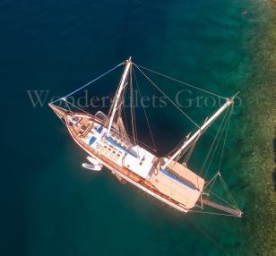 Superior wg cc 003 gulet charter Croatia & Montenegro 24meters