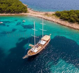 Superior wg cc 002 gulet charter Croatia & Montenegro 32meters