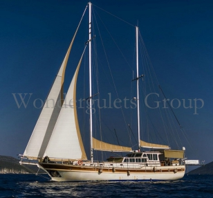Superior Gulet 24 mt Corfu cruising