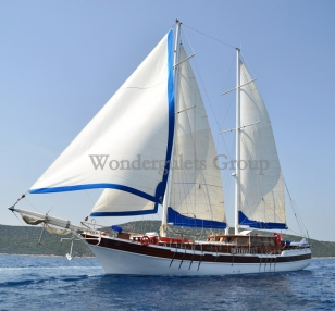 Superior gulet charter Greece Turkey 30 mt