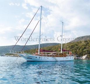 Superior wg th 001 gulet charter Greece Turkey 21.50meters