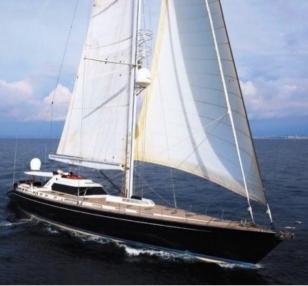 Barca a vela SY TW 001
