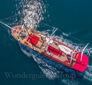 Superior wg cm 001 gulet charter Croatia & Montenegro 41meters