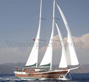 Caicco Luxury 30 metri per 15 ospiti crociera in Grecia