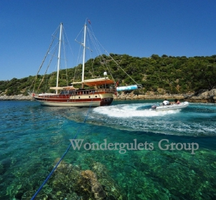 Superior wg kp 001 gulet charter Turkey 24 meters