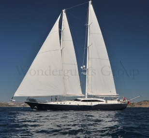 Luxury Motorsailer WG TG 003 44meter Turkey