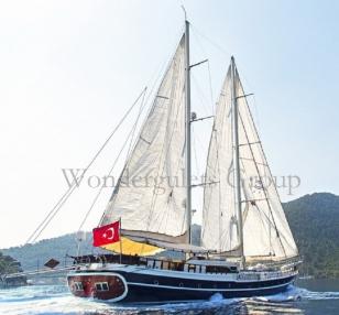 Luxury WG TG 013 gulet charter Turkey 36meters