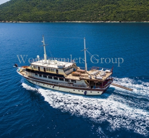Superior wg to 001 gulet charter Greece Turkey 36meters