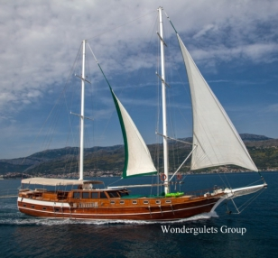 Superior wg cn 012 gulet charter Croatia & Montenegro