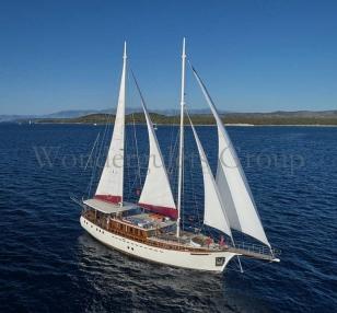 Superior wg cs 002 gulet charter Croatia & Montenegro 24meters