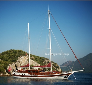 Luxury WG TS 007 gulet charter Greece 30.00 meters